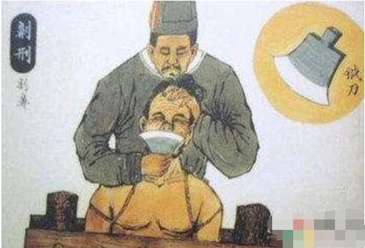 古代五大肉刑之一,劓刑(割掉犯人鼻子的一種酷刑)
