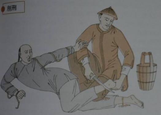 古代五大肉刑之一,刖刑(砍斷雙腳來防止奴隸逃跑)