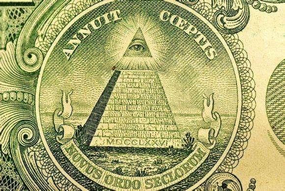 美國國徽背後的秘密,全視之眼代表上帝的監製(上帝之眼)