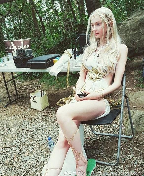 17歲加拿大嫩模Savanna Blade,現實中的精靈公主(美若天仙)